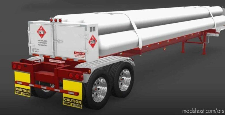 CNG 7Tubes ISO 48FT Trailer V2.4 [1.41.X] for American Truck Simulator
