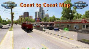 Coast To Coast Map V2.12.2 [1.41] for American Truck Simulator