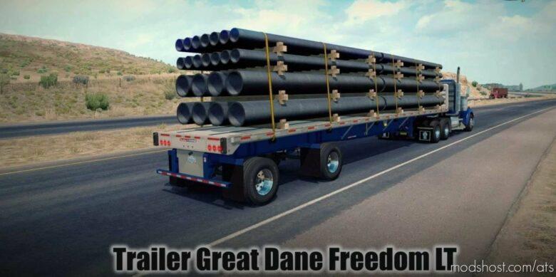 Great Dane Freedom LT Trailer V1.1 [1.41.X] for American Truck Simulator