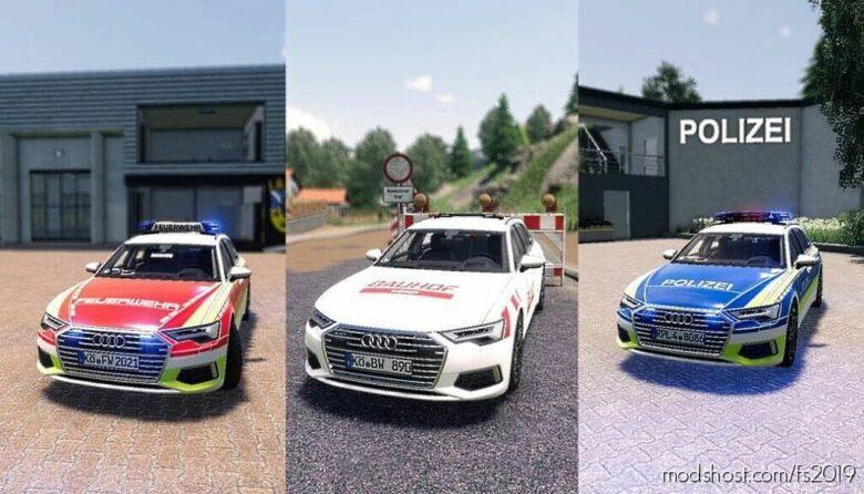 Audi A6 Avant for Farming Simulator 19