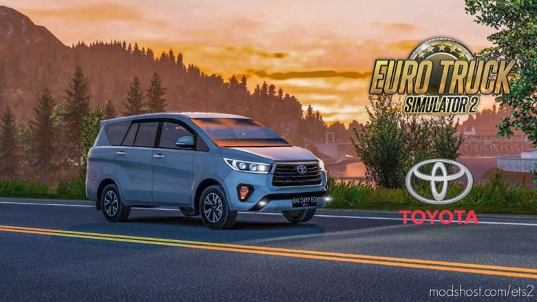 Toyota Innova Reborn V1.1 By Hilman Alwi [1.41.X] for Euro Truck Simulator 2