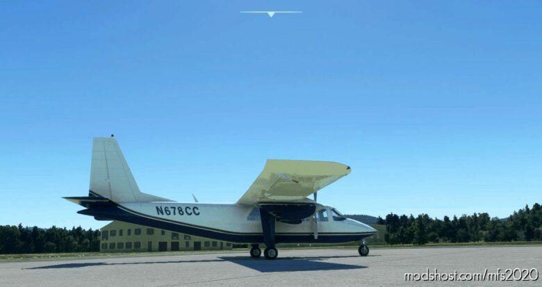 BN2B N678CC Request for Microsoft Flight Simulator 2020