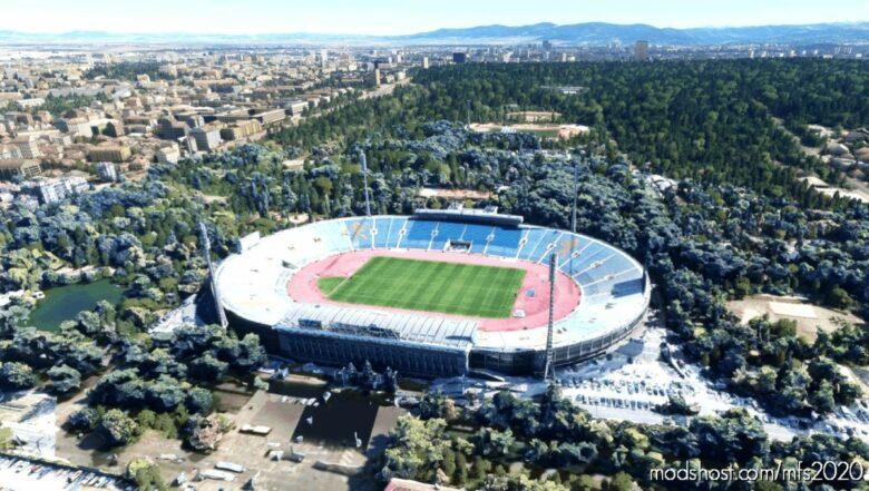 Vasil Levski Stadium – Sofia – Bulgaria for Microsoft Flight Simulator 2020