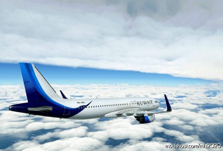 Kuwait Airways A320NEO (NEW Livery) for Microsoft Flight Simulator 2020