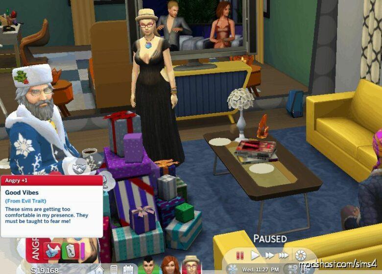 Enhanced Good VS. Evil Traits for The Sims 4