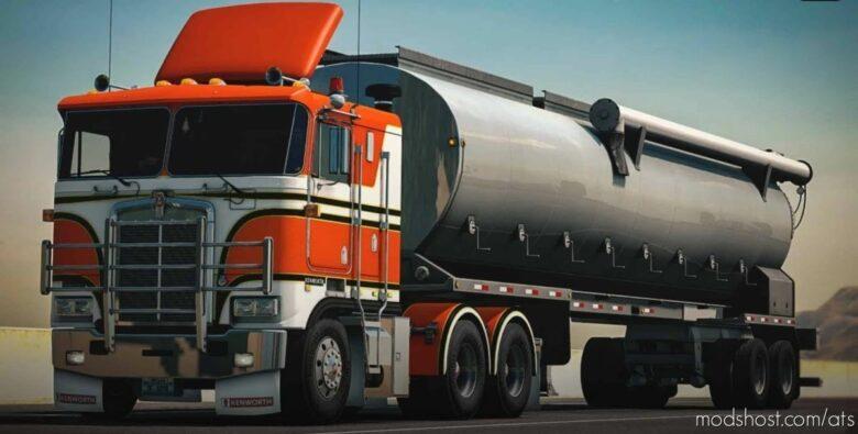Kenworth K100-E Truck + Interior V1.2.3 By Overfloater [1.41.X] for American Truck Simulator