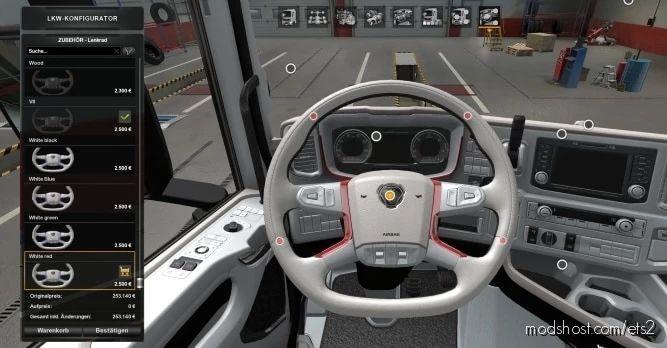 Scania 2016 Next GEN Interiors [1.41] for Euro Truck Simulator 2