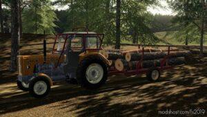 Selfmade Forest Trailer V1.0.0.1 for Farming Simulator 19