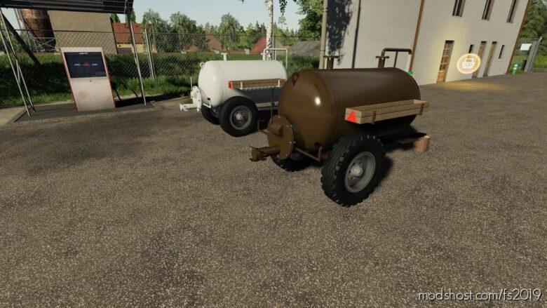 Small Barrels for Farming Simulator 19