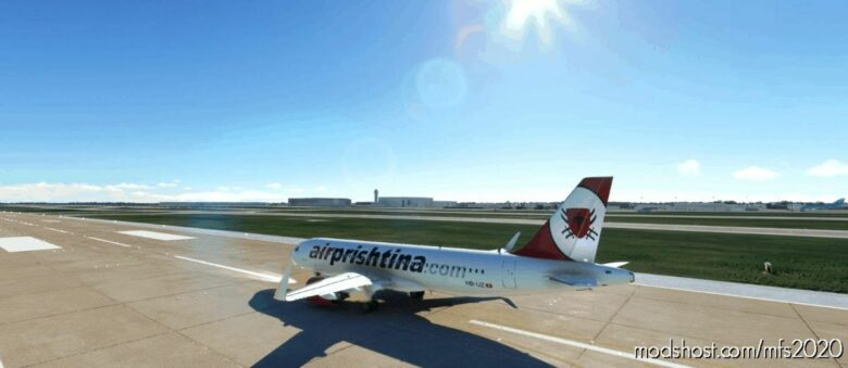 AIR Prishtina Livery For A320Neo for Microsoft Flight Simulator 2020