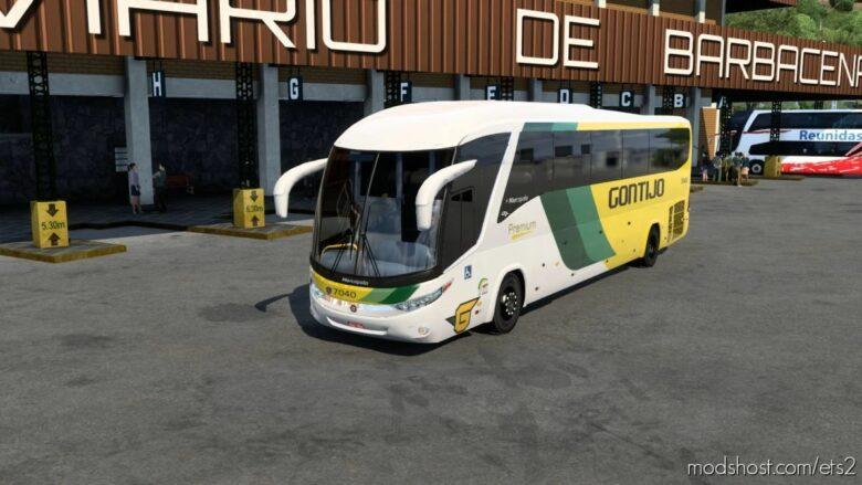 Marcopolo G7 1200 Scania [1.41.X] for Euro Truck Simulator 2