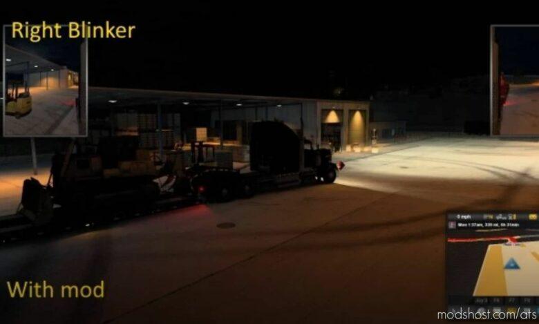 Brighter Truck And Trailer Lights V19.09 for American Truck Simulator