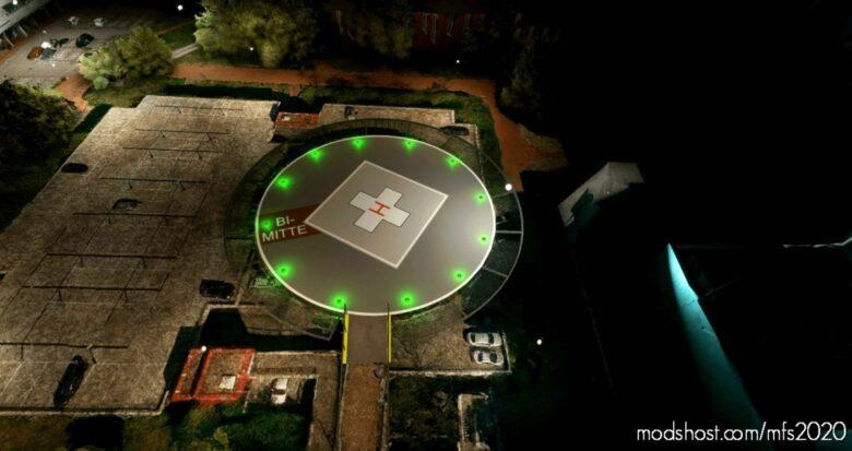Klinikum Bielefeld Mitte (Krankenhaus Mitte) for Microsoft Flight Simulator 2020