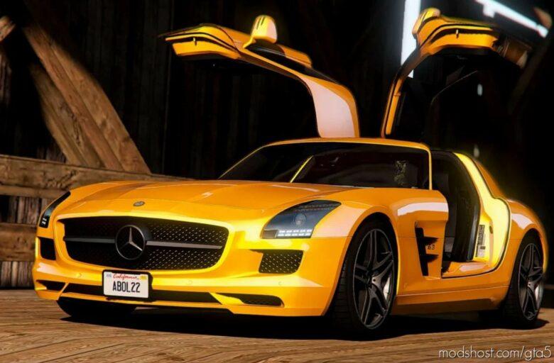 2011 Mercedes-Benz SLS AMG for Grand Theft Auto V