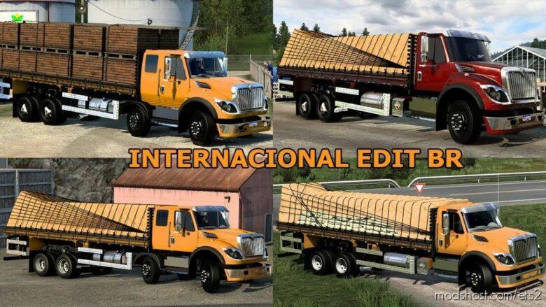Internacional Workstar Edit Br-Truck/Bitruck [1.41] for Euro Truck Simulator 2