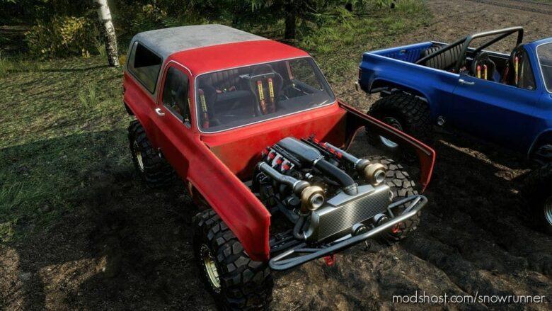 Hooligan Squarebody-Utility-Vehicle (SUV) V for SnowRunner