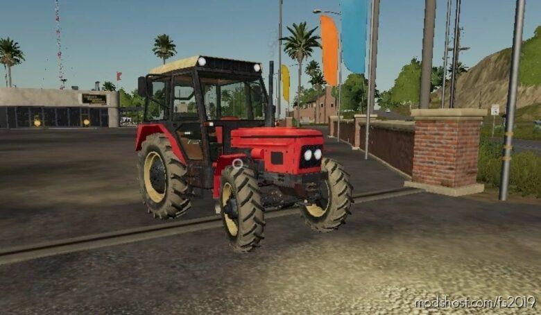 Zetor 7245 MáňA for Farming Simulator 19