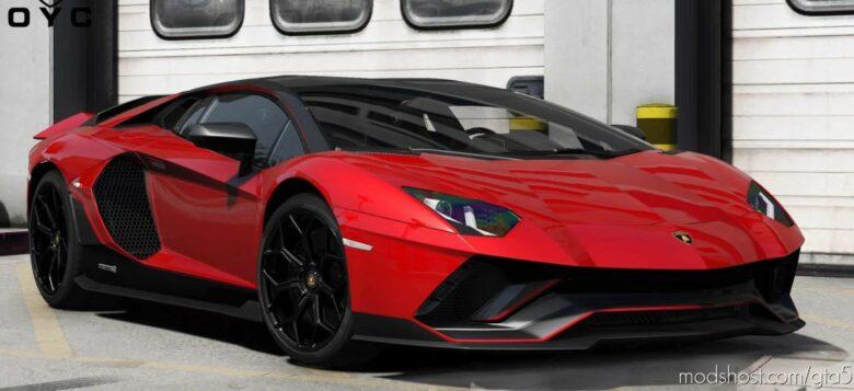2022 Lamborghini Aventador LP780-4 Ultimae V6.0 for Grand Theft Auto V