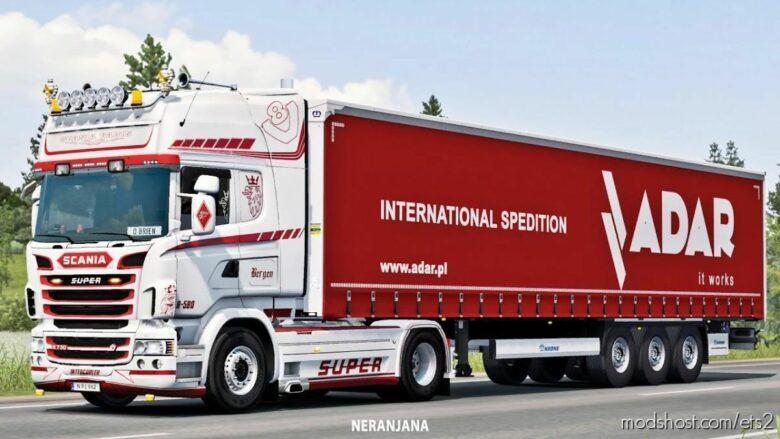 Scania Openpipe V8 Crackle V12 [1.41.X] for Euro Truck Simulator 2