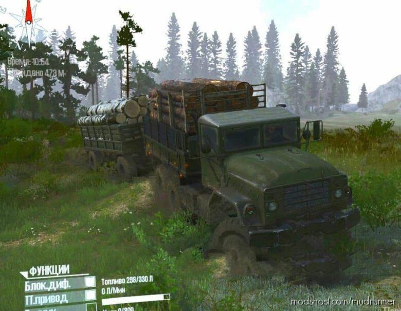 AM General M925 1984 Truck for MudRunner