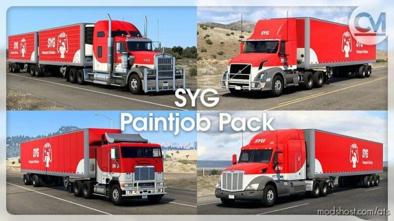 SYG Paintjob Pack V1.2.3 for American Truck Simulator