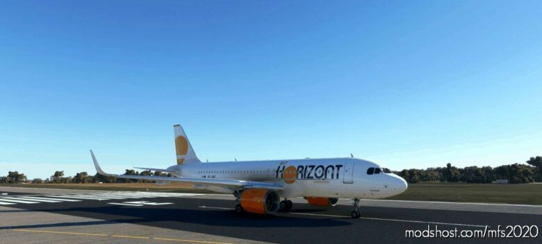 AIR Horizont Livery For The FBW A32NX. for Microsoft Flight Simulator 2020