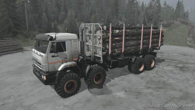 Kamaz 6×6 / 8×8 Swamp Walker V22.09.21 for MudRunner