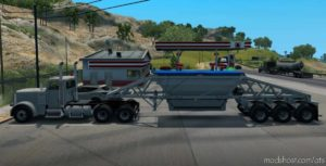 Ownable Bottom Dump Trailer [1.41.X] for American Truck Simulator