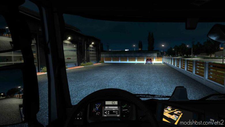 Xenon Lights By Alik [1.41] for Euro Truck Simulator 2