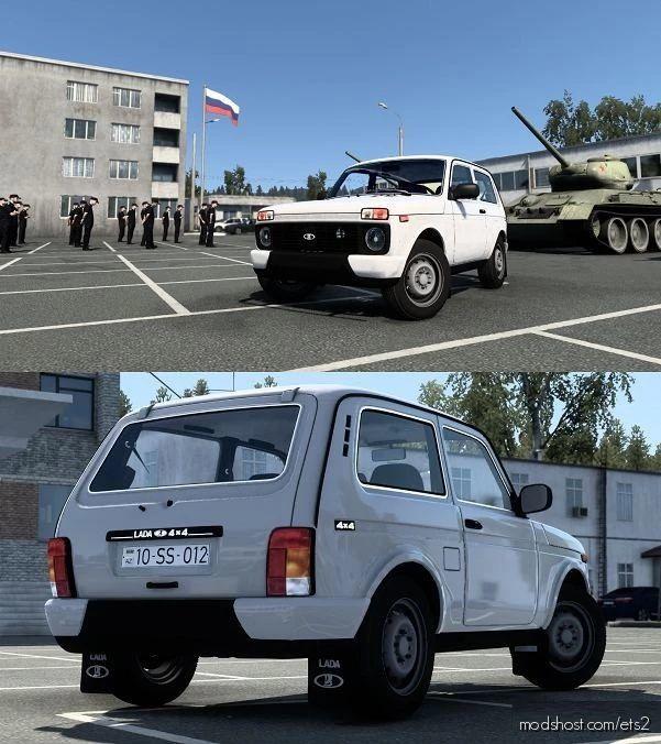 Lada Niva 2121 V5.1 [1.41.X] for Euro Truck Simulator 2