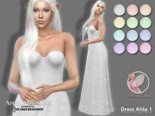 Arcane Illusions – Dress Alita for The Sims 4