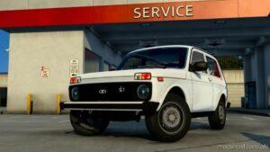 Lada Niva 2121 V5.1 [1.41] for American Truck Simulator