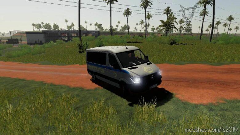 Mercedes Benz Sprinter [JW Tour VAN] for Farming Simulator 19
