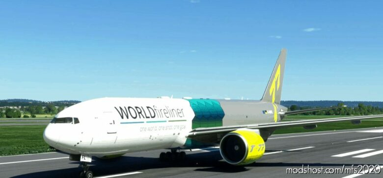 Captain SIM B777-200F – Worldfireliner [8K Fictional] for Microsoft Flight Simulator 2020