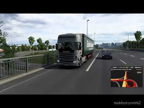 Scania 4 Series V8 [1.41.X] for Euro Truck Simulator 2