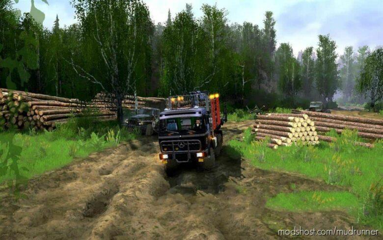 Gruzi-Vozi 3 Map V3 for MudRunner