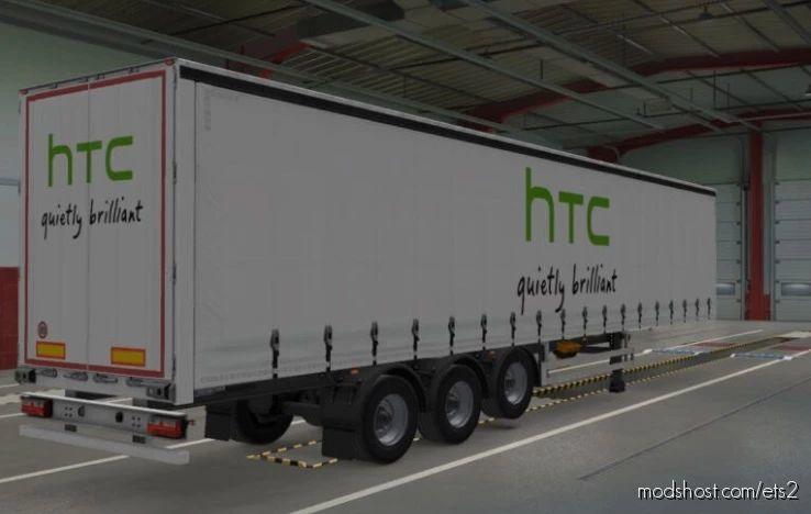 Phone Brand Trailer Skins for Euro Truck Simulator 2
