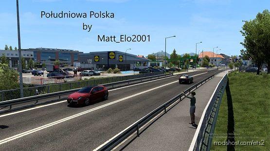 Southern Poland V1.4.1 for Euro Truck Simulator 2