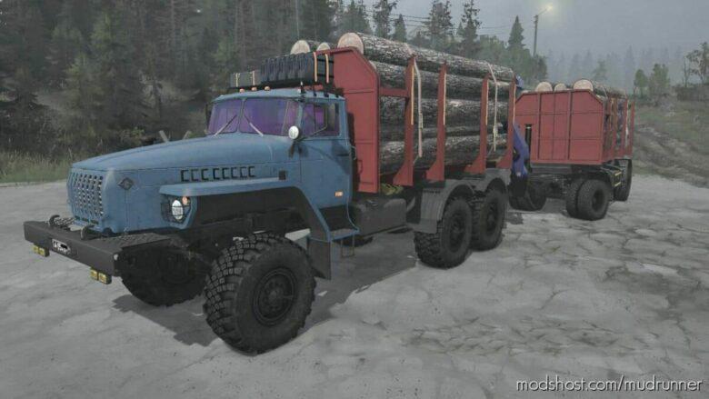 Ural-4320 Truck V26.09.21 for MudRunner