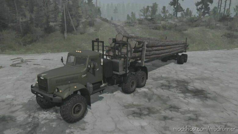 Kraz-255B Truck V27.09.21 for MudRunner