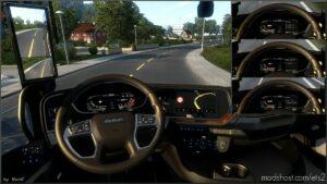Dashboard Light DAF XG 2021 Pack V1.2 for Euro Truck Simulator 2