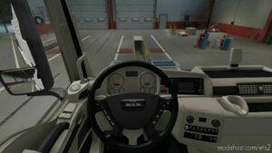 MAN TGX Decent Interiors V1.2 [1.41] for Euro Truck Simulator 2