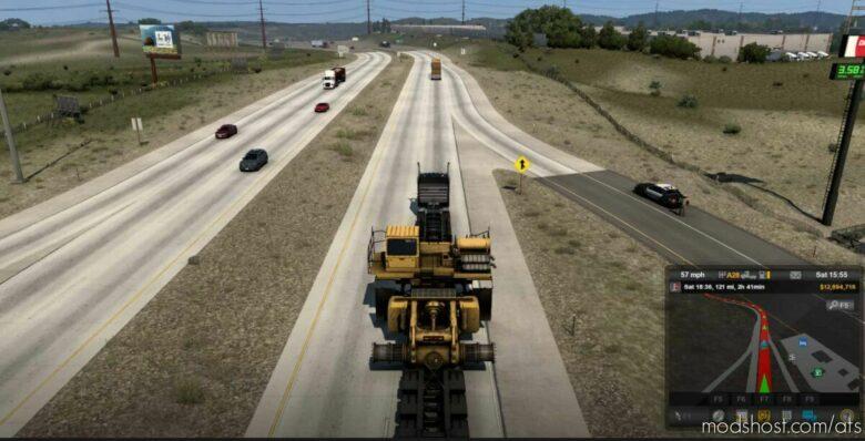 NO Special Transport Escort [1.41] for American Truck Simulator