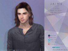 Jaime Hair for The Sims 4