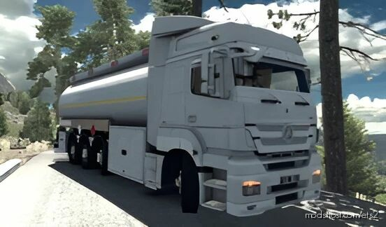 Mercedes-Benz Axor 3240 Ortadogu [1.40] for Euro Truck Simulator 2