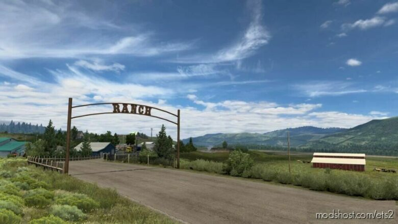Ranch Near Jackson By 10Avoid [1.41.X] for Euro Truck Simulator 2