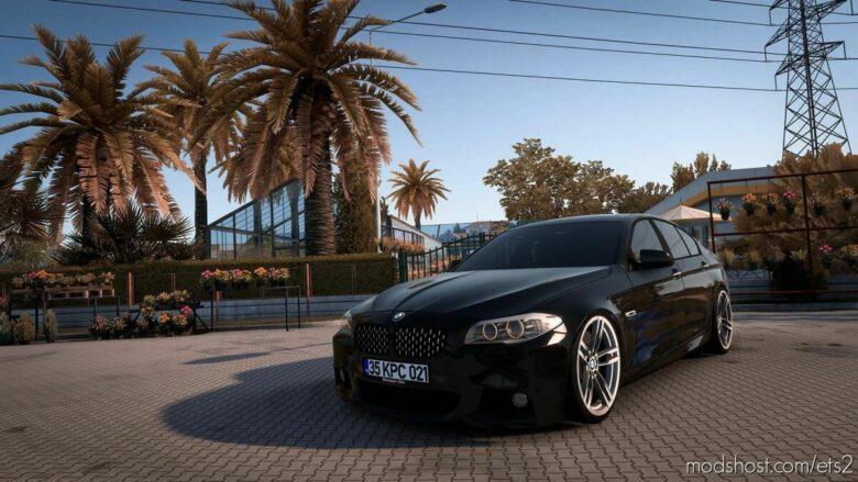 BMW 5 F10 M-Sport [1.41.X] for Euro Truck Simulator 2