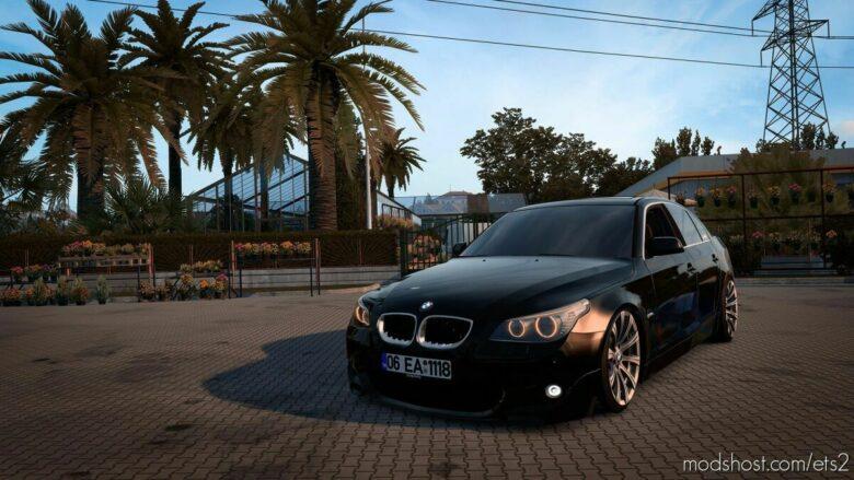 BMW 5 – Series E60 M-Sport [1.41.X] for Euro Truck Simulator 2