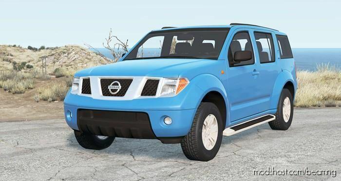 Nissan Pathfinder (R51) 2010 V2.0 for BeamNG.drive