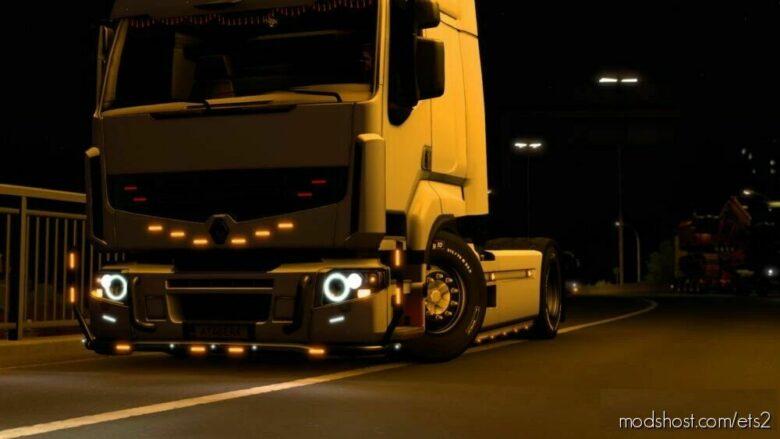 Renault Premium Tuning Mod [1.42] Beta for Euro Truck Simulator 2